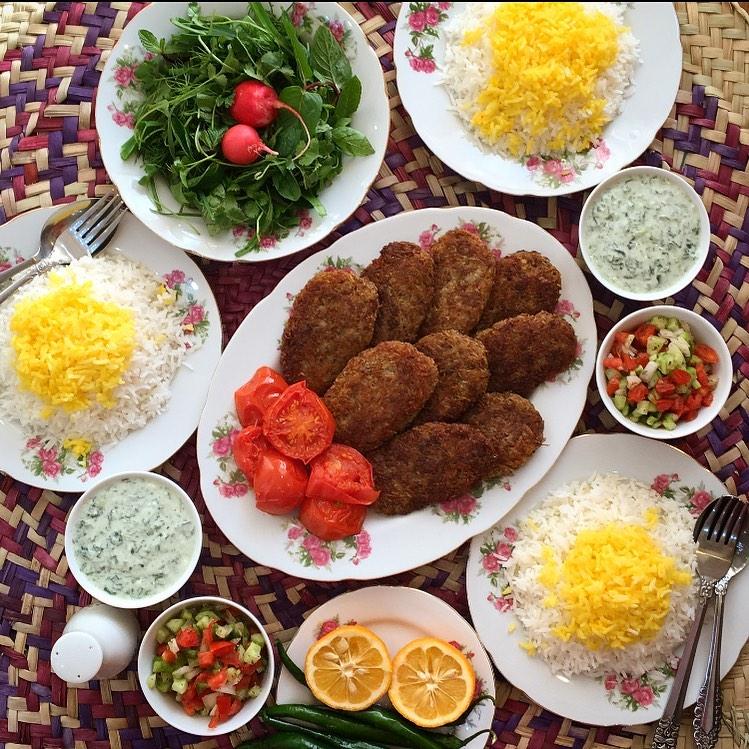 طرز تهیه شامی کباب مجلسی خانگی