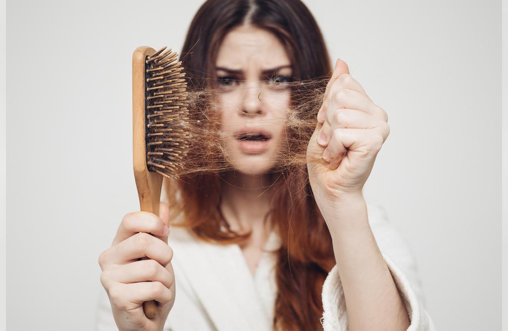 درمان ریزش مو با روغن زنجبیل