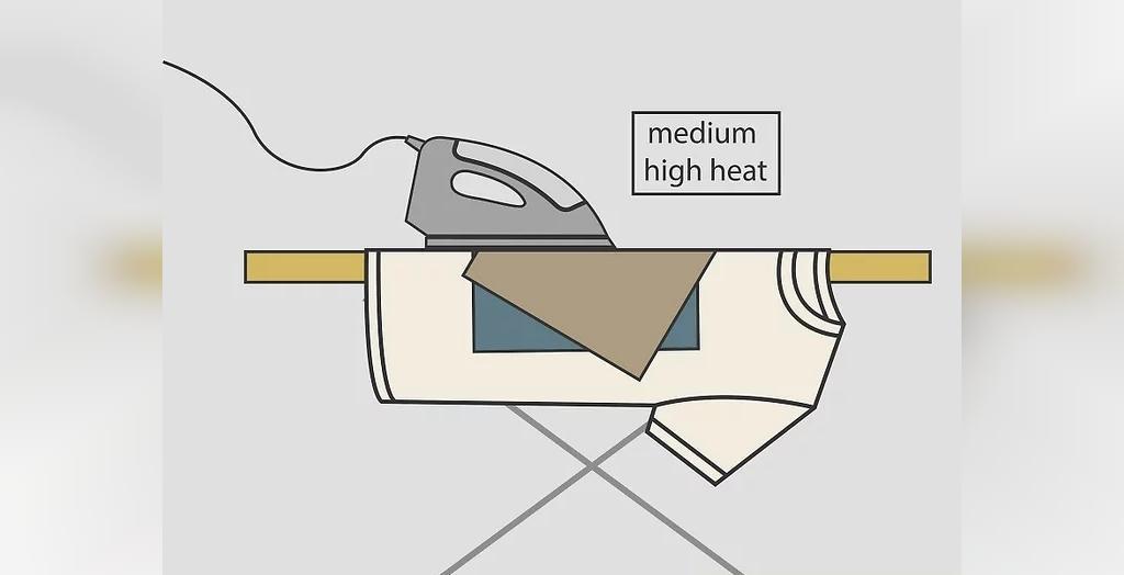 چگونه لکه سوختگی لباس با اتو را از بین ببریم