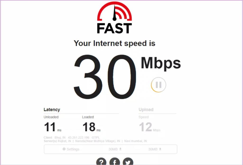عدم اتصال گوشی به وای فای به این علت که اتصال اینترنت کند شده است