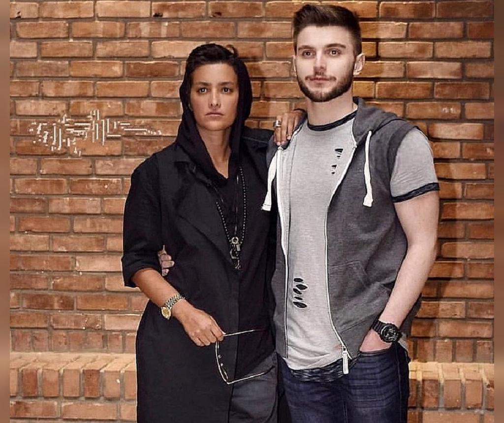 دارا حیایی و مادرش مونا بانکی پور