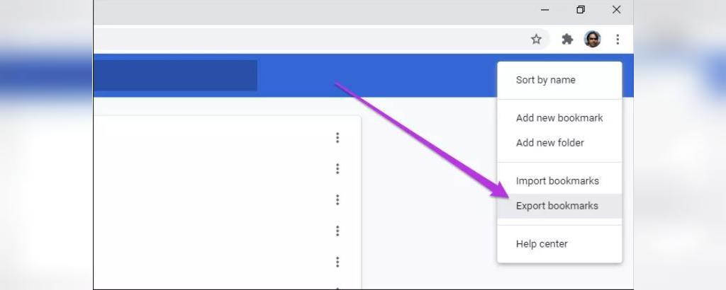 نحوه پشتیبان گیری از نشانه ها و ذخیره نشانه ها در یک فایل HTML