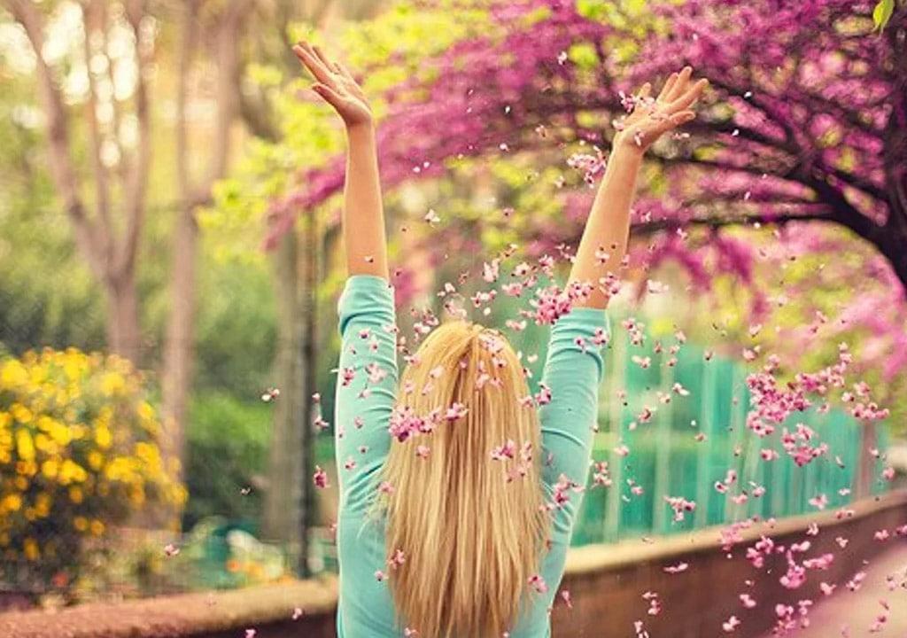 عکس پروفایل بهاری خوشگل