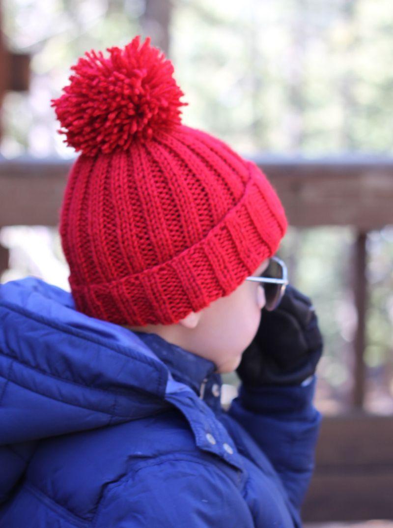 مدل کلاه بافتنی پسرانه طرح دار زیبا