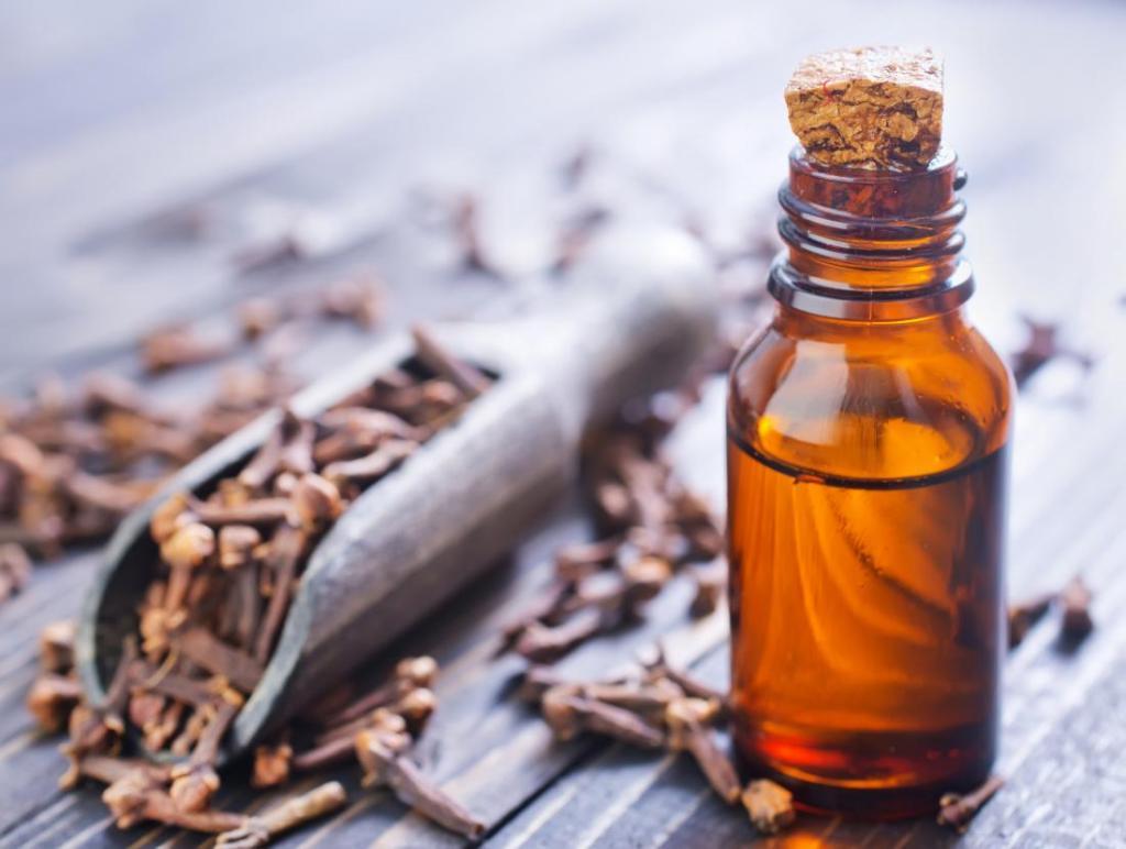 درمان خانگی گال با روغن میخک