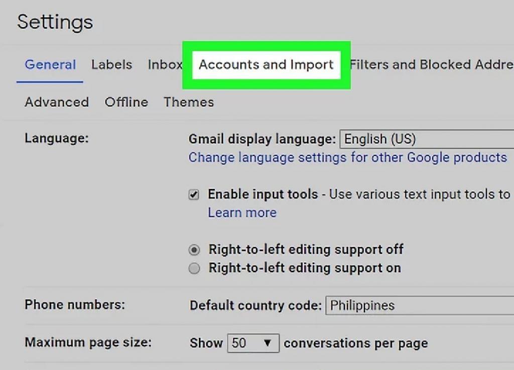 تنظیمات لازم برای دریافت ایمیل های یاهو در جیمیل