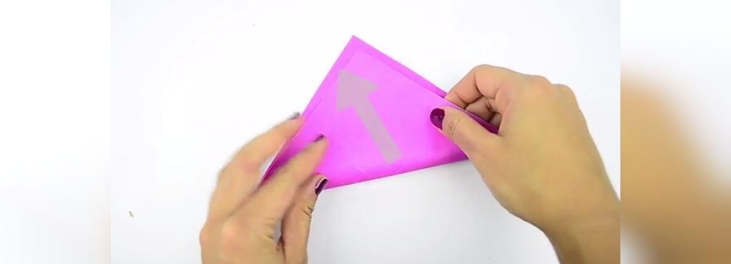 چگونه قلب کاغذی حجمی درست کنیم