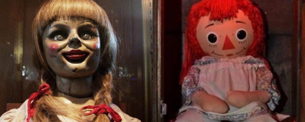 عروسک آنابل در موزه وارن