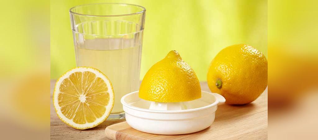 آب لیمو برای از بین بردن تیرگی زیر بغل