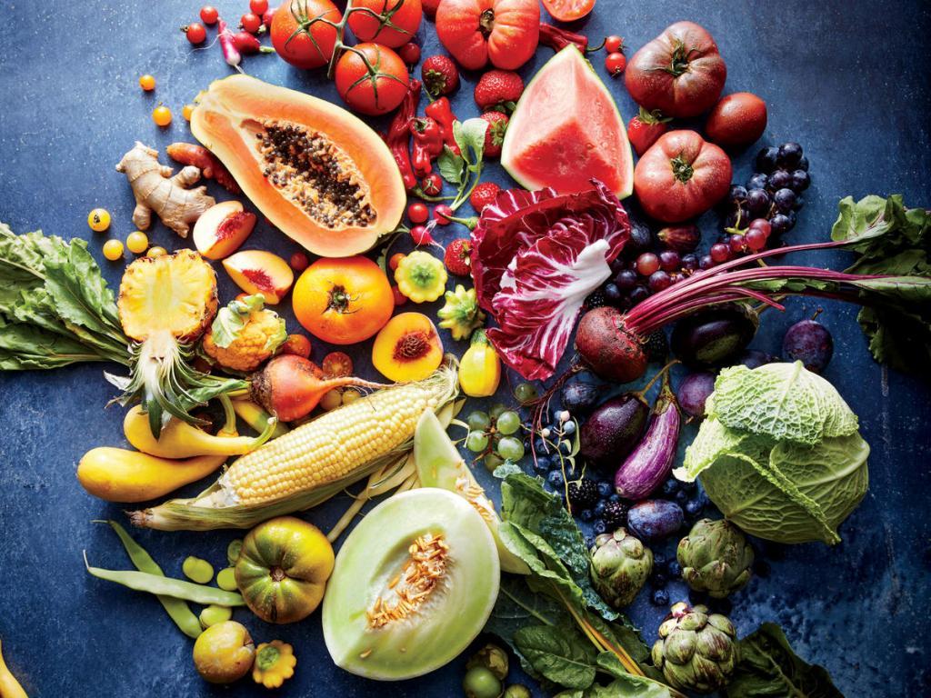 میوه و سبزیجات راز جوان ماندن