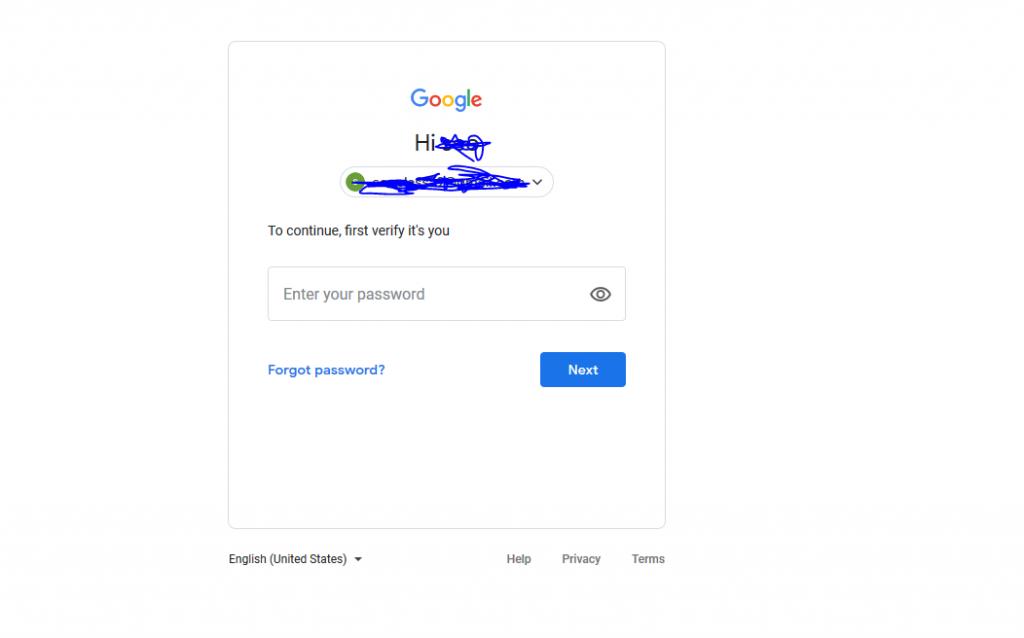 بازیابی رمز جیمیل فراموش شده بدون شماره تلفن