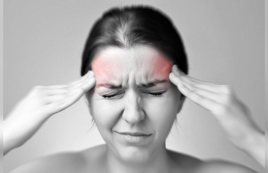 درمان سردرد با سیب