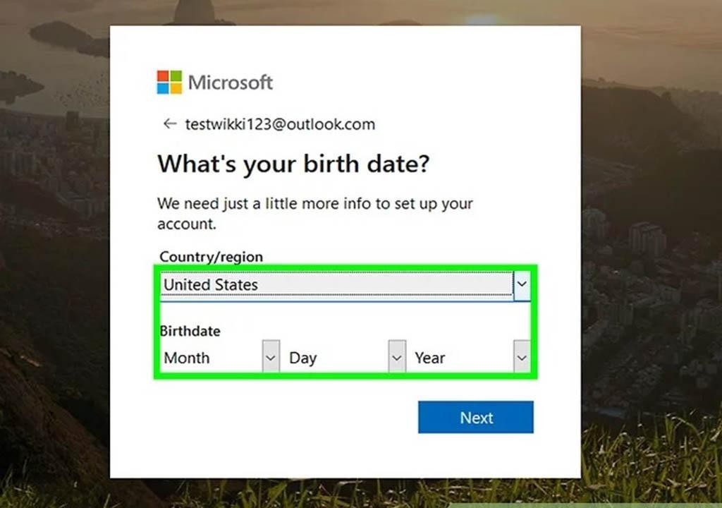 اکانت مایکروسافت