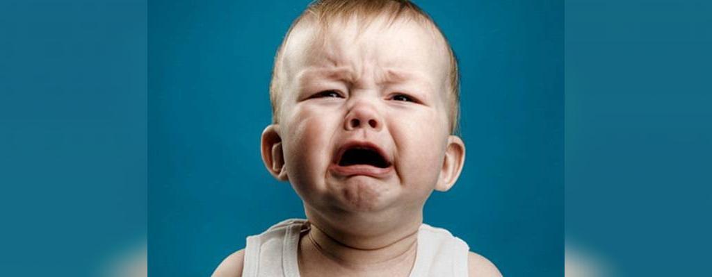 معنی گریه نوزاد