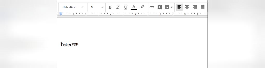 فایل شما به عنوان سند Google Docs باز می شود