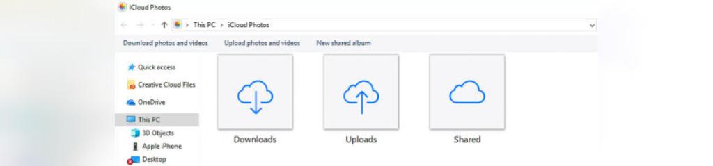 انتقال تصاویر از گوشی آیفون به کامپیوتر از طریق iCloud Photos