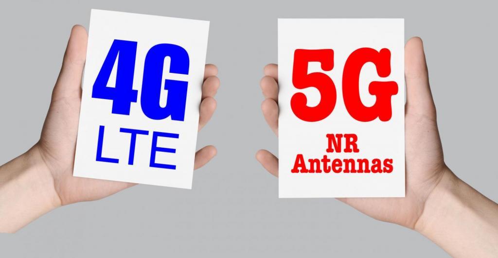 4G  5G  تفاوت سرعت اینترنت
