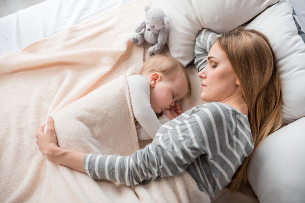 نکته های مهم برای خواب نوزادان
