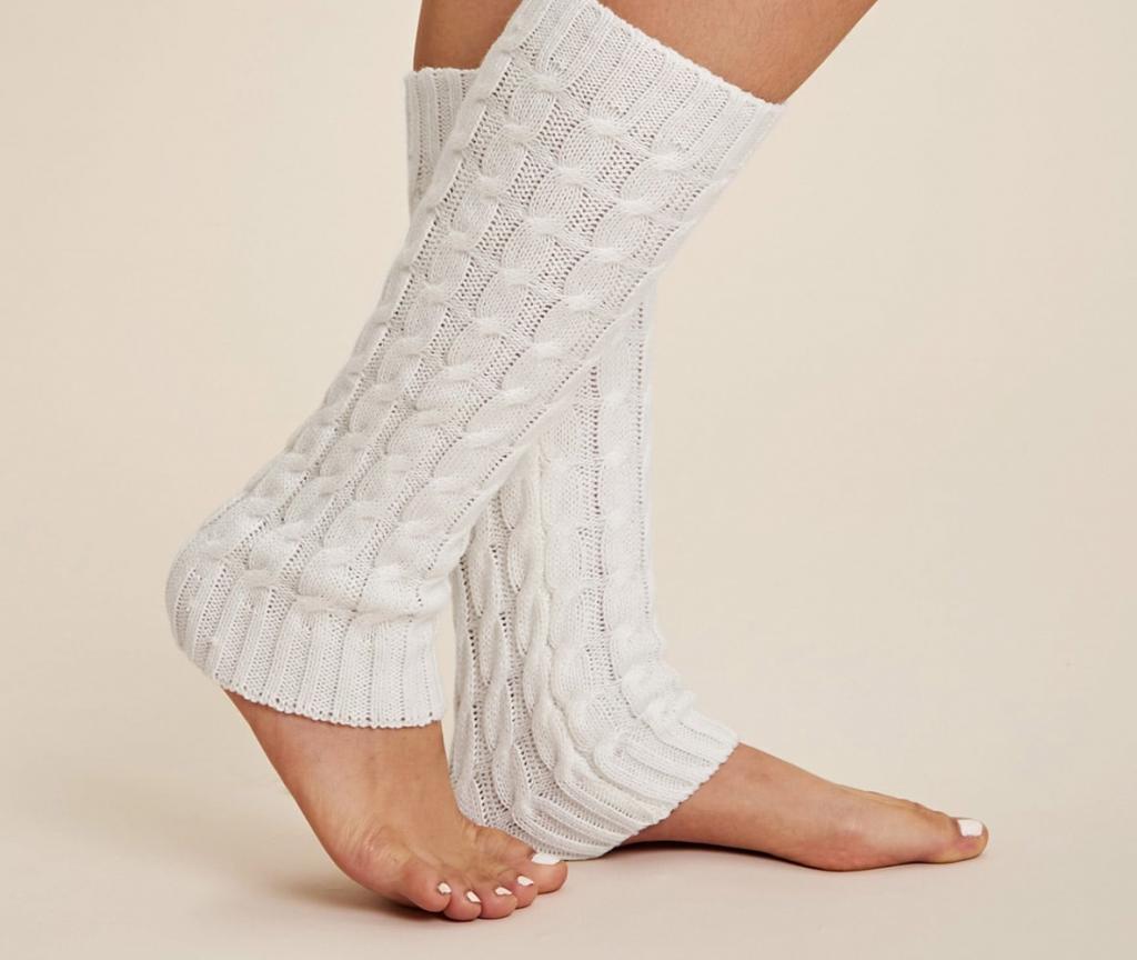 جوراب بافتنی زنانه ساق دار