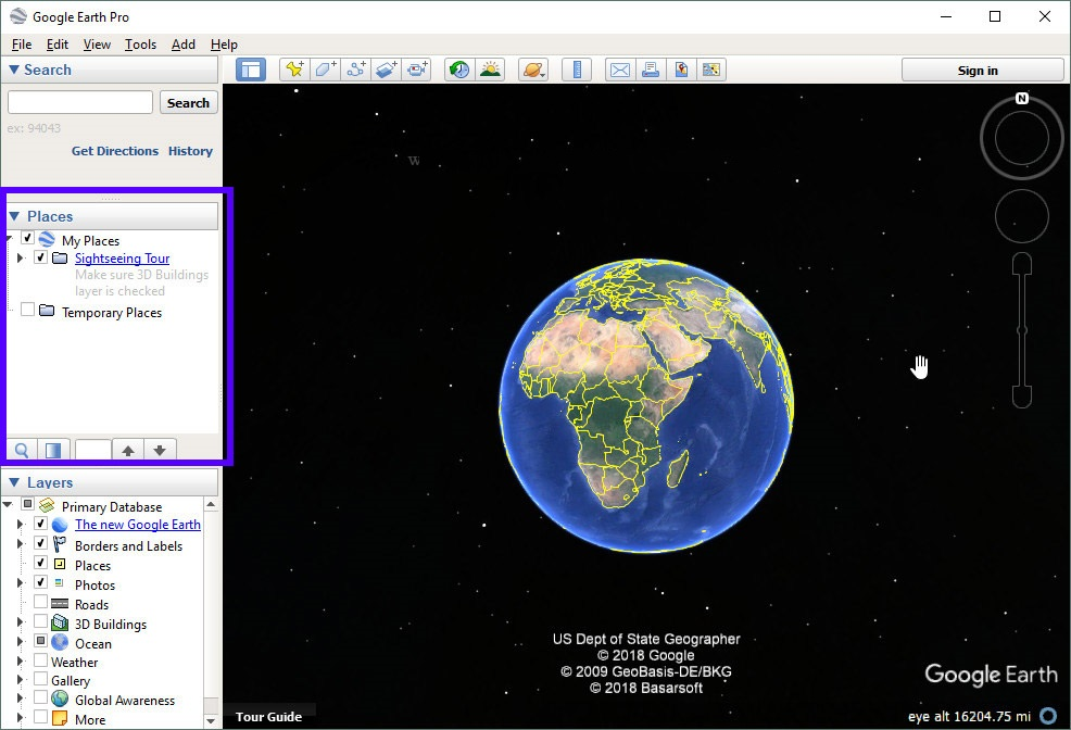 learning google earth