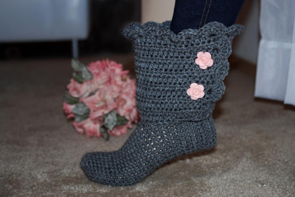 جوراب بافتنی دخترانه فانتزی شیک