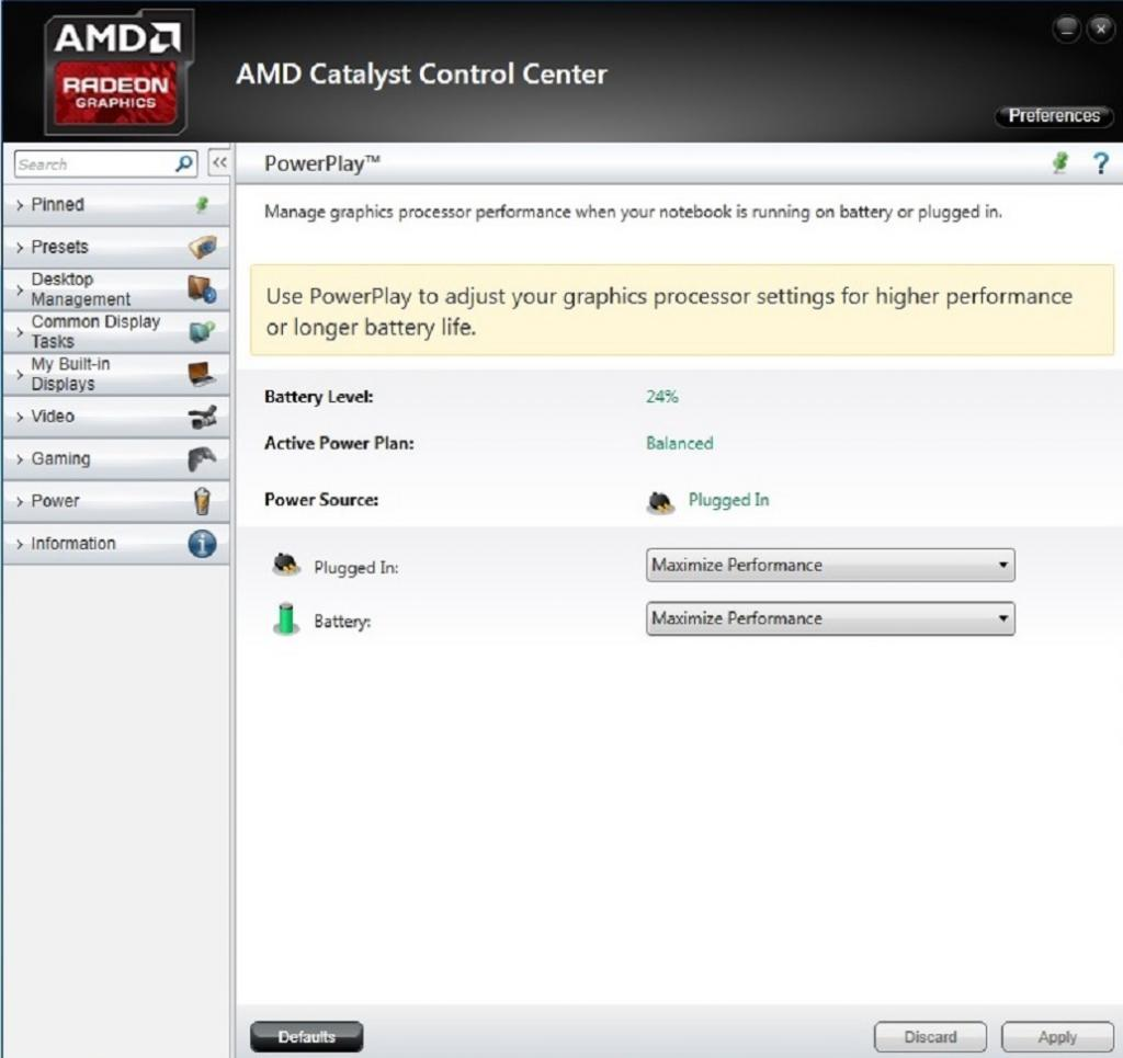 افزایش قدرت کارت گرافیک ATI/AMD Radeon