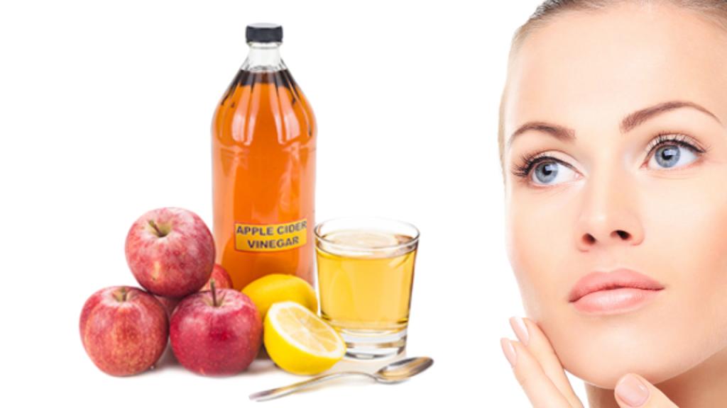 درمان آکنه با سرکه سیب