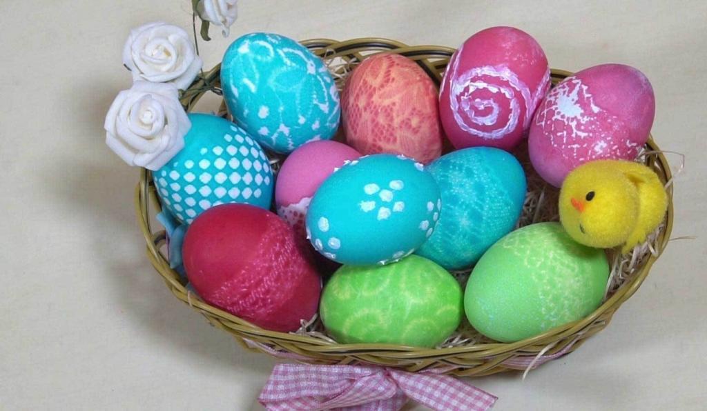 ایده تزیین تخم مرغ برای عید