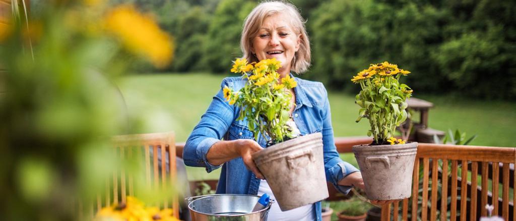 تاثیر باغبانی روی مغز و اعصاب