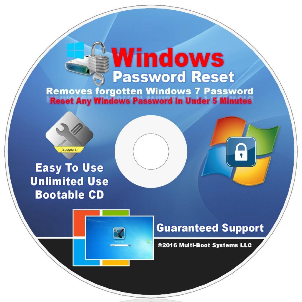 تکنیک های سریع برای ریست و بازیابی رمز عبور ویندوز 7
