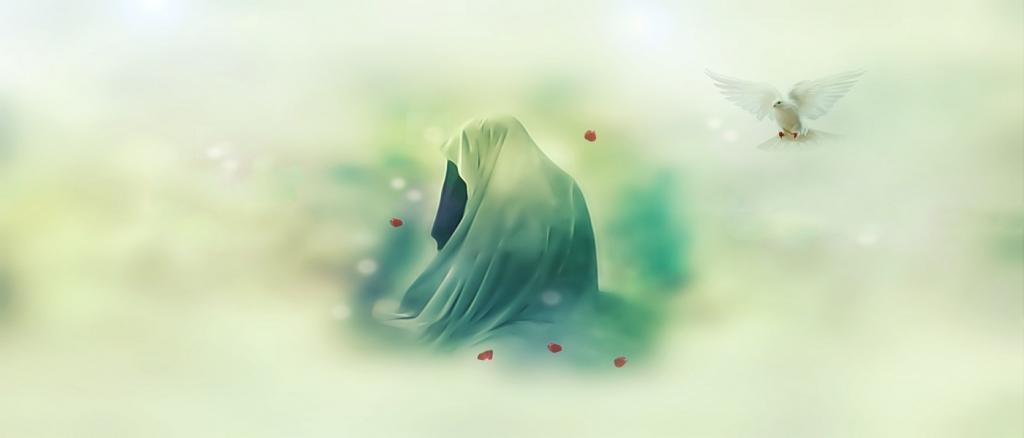 نقاشی شهادت حضرت فاطمه س