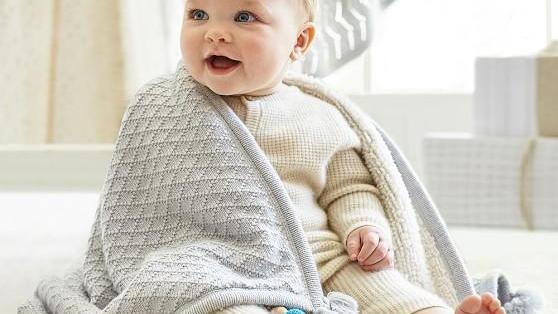 آموزش بافت پتوی نوزاد با دو میل و قلاب برای مبتدی ها