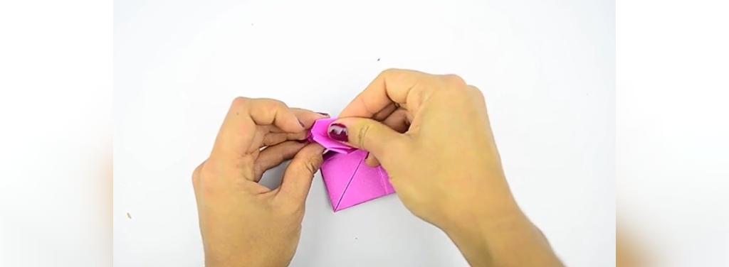 چطور یک قلب کاغذی درست کنیم