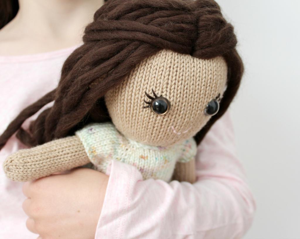 ژورنال عروسک بافتنی دختر بچه ها