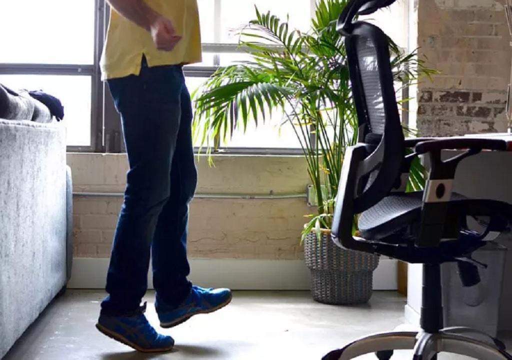 ورزش در محل کار برای لاغری