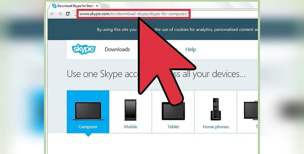 مراحل برگزاری تماس تصویری در اسکایپ