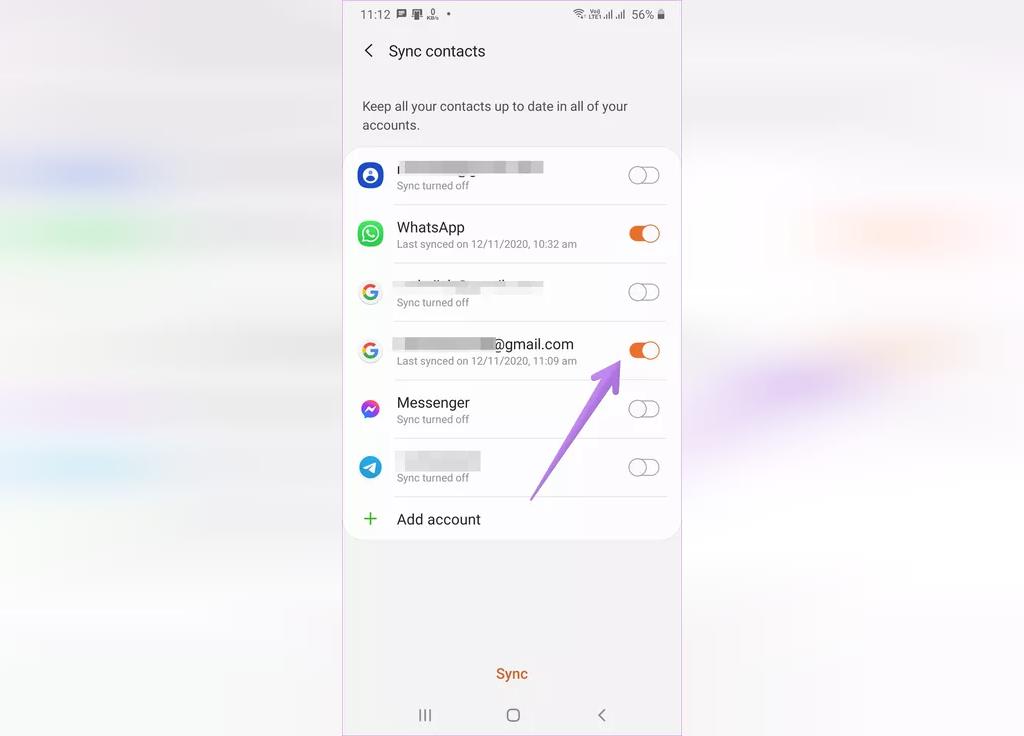 راه حل ذخیره شماره تماس های جدید گوشی خود را در حساب کاربری گوگل