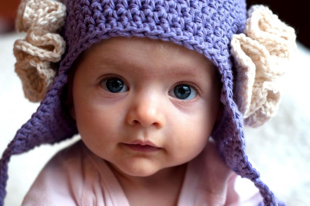 مدل ژورنال کلاه بافتنی نوزادی با دومیل