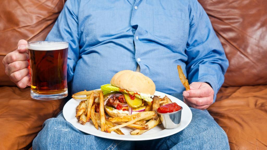 تغییر در عادات غذا خوردن با مصرف مواد مخدر