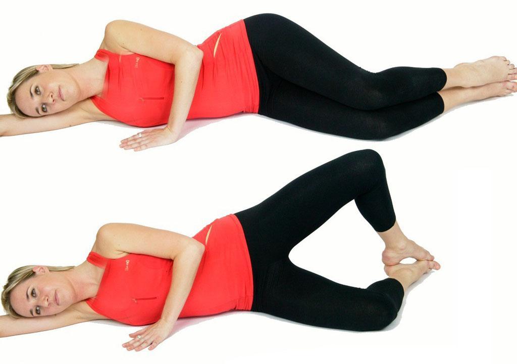 حرکت ورزشی برای پر گردن بغل ران