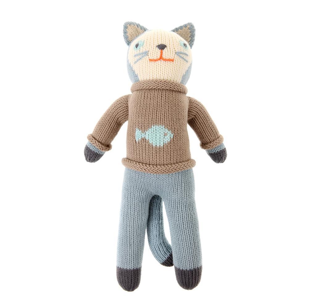 مدل عروسک بافتنی گربه ناقالا
