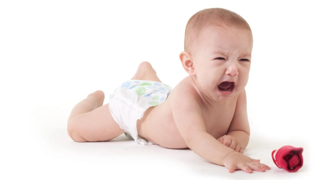 پوشک سوختگی پای کودک
