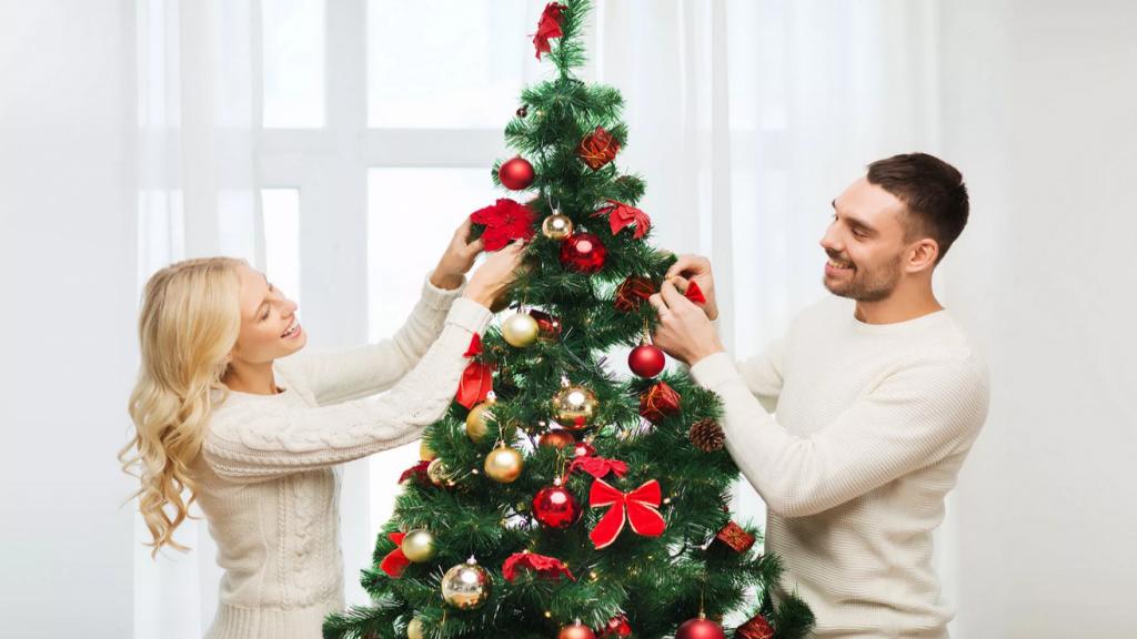 مدل و تصاویر درخت کریسمس ساده، شیک و لاکچری