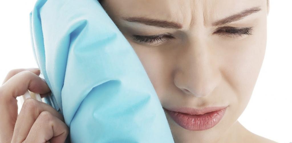 درمان گوش درد با سرما