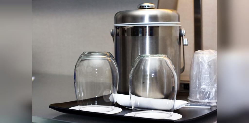 ظرف یخ از کثیف ترین نقاط در هتل ها