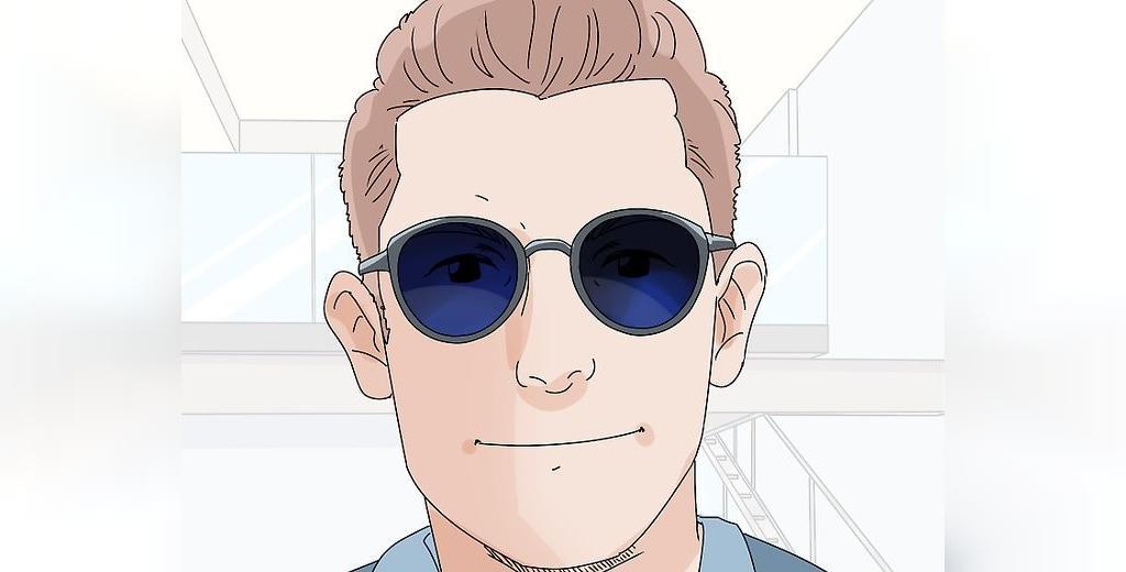 انتخاب عینک برای صورت های مربعی