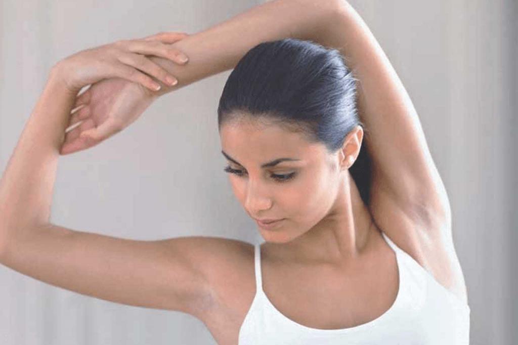 نکاتی برای جلوگیری ازتیرگی زیر بغل