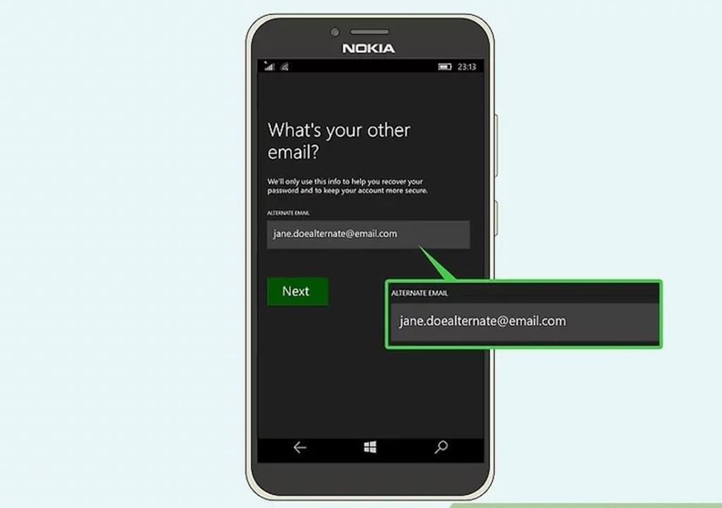 ساخت حساب مایکروسافت با موبایل