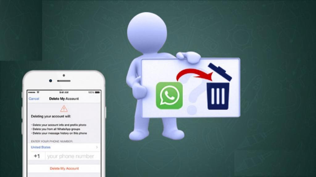 روش حذف واتس اپ در اندروید و آیفون (دیلیت اکانت واتساپ)