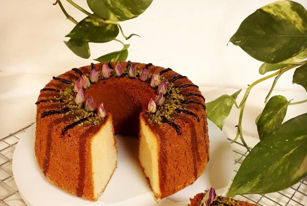 طرز تهیه کیک ماست ساده با بافت اسفنجی